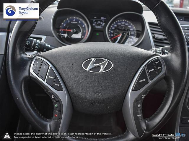 2016 Hyundai Elantra GLS (Stk: U9022A) in Ottawa - Image 14 of 27