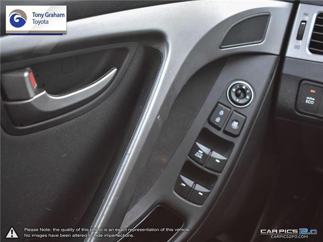 2016 Hyundai Elantra GLS (Stk: U9022A) in Ottawa - Image 16 of 27