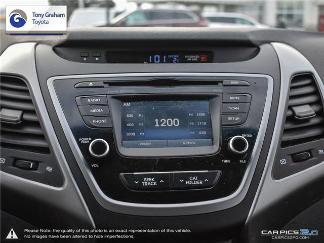 2016 Hyundai Elantra GLS (Stk: U9022A) in Ottawa - Image 18 of 27