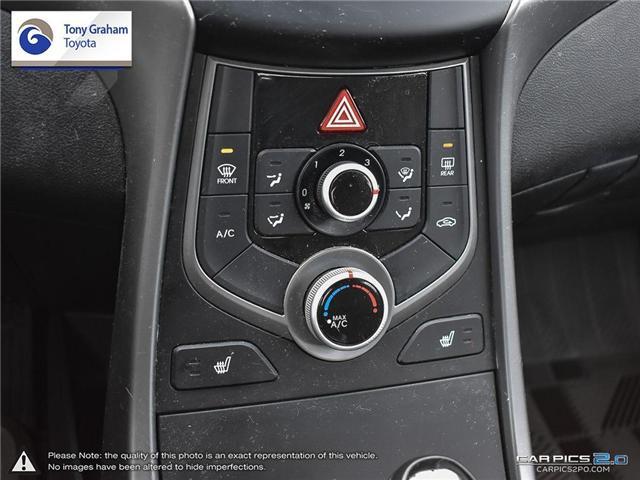 2016 Hyundai Elantra GLS (Stk: U9022A) in Ottawa - Image 19 of 27