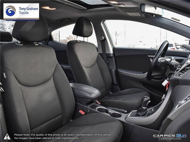 2016 Hyundai Elantra GLS (Stk: U9022A) in Ottawa - Image 23 of 27