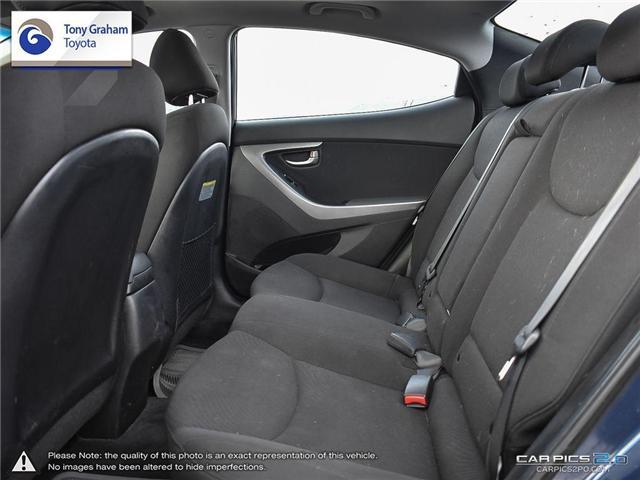 2016 Hyundai Elantra GLS (Stk: U9022A) in Ottawa - Image 24 of 27