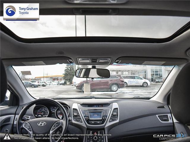 2016 Hyundai Elantra GLS (Stk: U9022A) in Ottawa - Image 27 of 27