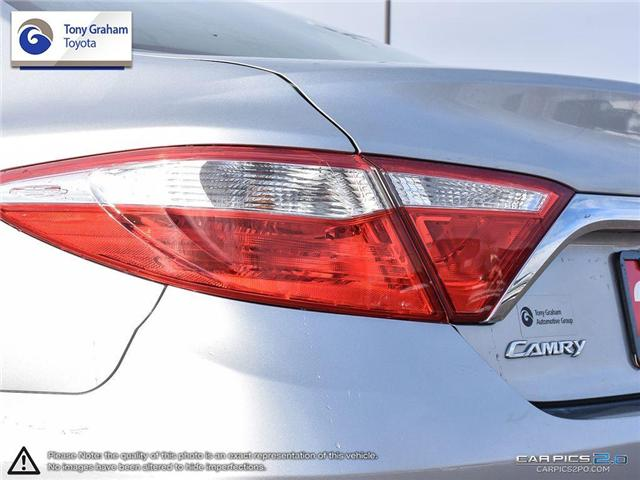 2015 Toyota Camry LE (Stk: E7648) in Ottawa - Image 12 of 26
