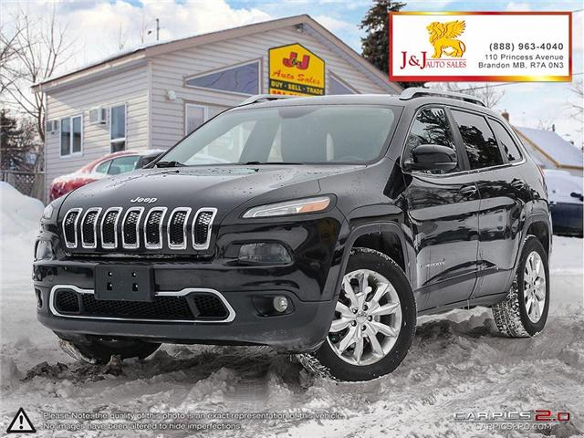 2014 Jeep Cherokee Limited (Stk: J18120) in Brandon - Image 1 of 27