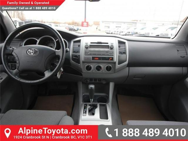 2010 Toyota Tacoma V6 (Stk: X168867B) in Cranbrook - Image 11 of 18