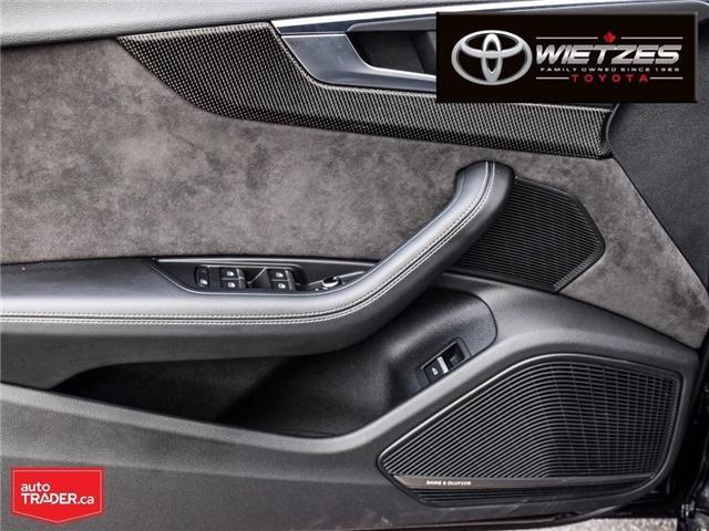 2018 Audi S5 3.0T Technik (Stk: U2196) in Vaughan - Image 9 of 26