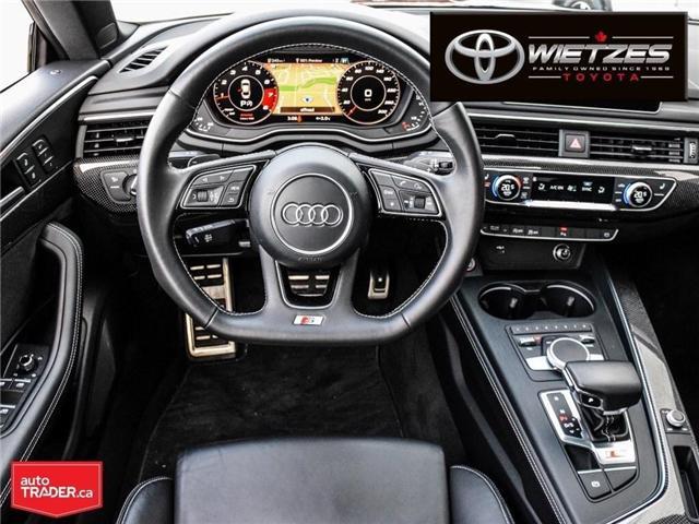 2018 Audi S5 3.0T Technik (Stk: U2196) in Vaughan - Image 14 of 26