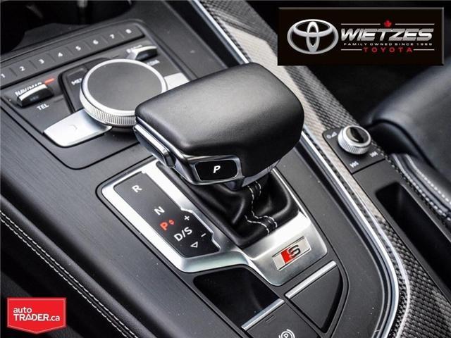 2018 Audi S5 3.0T Technik (Stk: U2196) in Vaughan - Image 22 of 26