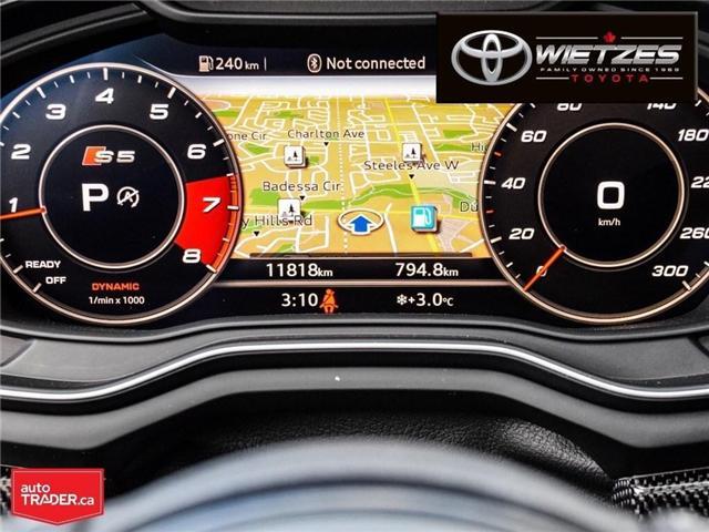 2018 Audi S5 3.0T Technik (Stk: U2196) in Vaughan - Image 23 of 26