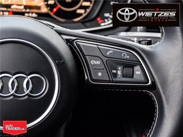 2018 Audi S5 3.0T Technik (Stk: U2196) in Vaughan - Image 25 of 26