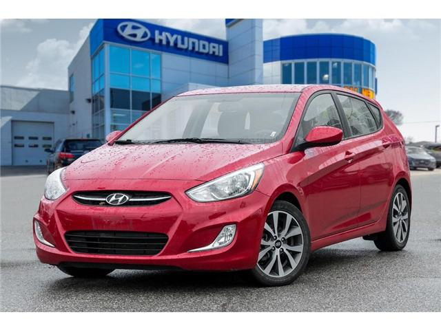 2017 Hyundai Accent  (Stk: H7732PR) in Mississauga - Image 1 of 20