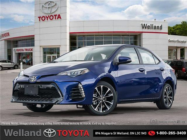 2019 Toyota Corolla SE Upgrade Package (Stk: COR6261) in Welland - Image 1 of 24