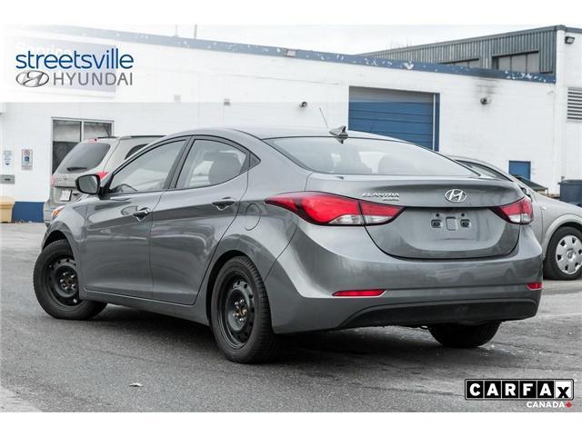 2016 Hyundai Elantra Sport (Stk: 19XL011A) in Mississauga - Image 4 of 8