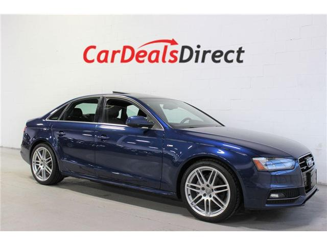 2014 Audi A4 2.0 Progressiv (Stk: 025406) in Vaughan - Image 1 of 30
