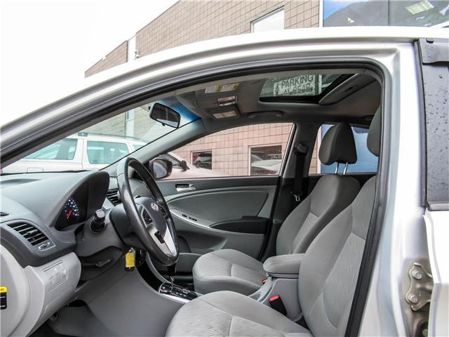 2014 Hyundai Accent GLS (Stk: U06363) in Toronto - Image 8 of 19