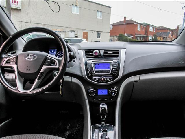 2014 Hyundai Accent GLS (Stk: U06363) in Toronto - Image 10 of 19