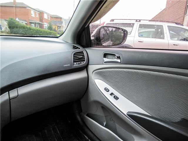 2014 Hyundai Accent GLS (Stk: U06363) in Toronto - Image 13 of 19