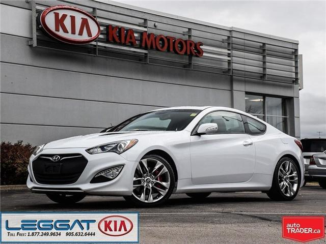 2015 Hyundai Genesis Coupe GT (Stk: W0071) in Burlington - Image 1 of 26