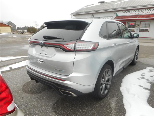 2017 Ford Edge Sport (Stk: NC 3687) in Cameron - Image 4 of 12