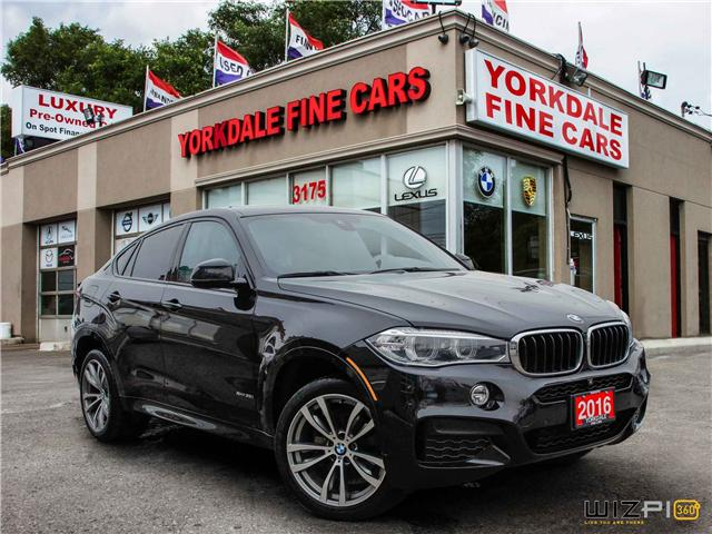 2016 BMW X6 xDrive35i (Stk: Y1 5009) in Toronto - Image 3 of 26
