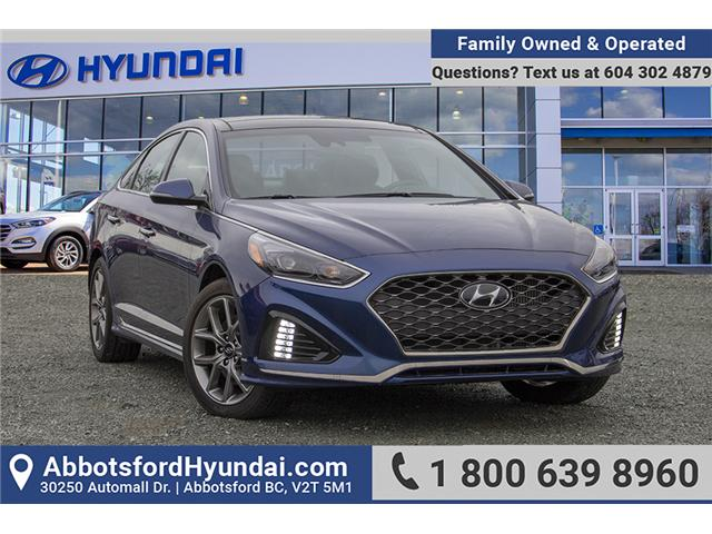 2018 Hyundai Sonata 2.0T Sport (Stk: AH8785) in Abbotsford - Image 1 of 25
