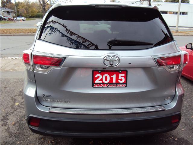 2015 Toyota Highlander LE (Stk: ) in Ottawa - Image 5 of 29