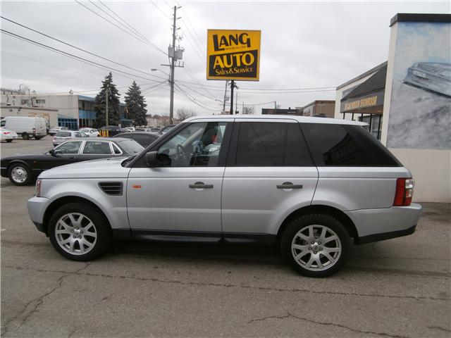 2007 Land Rover Range Rover Sport HSE (Stk: 849917) in Etobicoke - Image 2 of 12