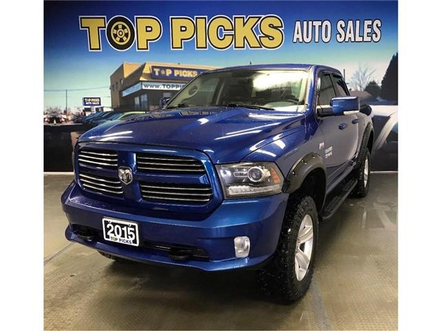 2015 RAM 1500 Sport (Stk: 536961) in NORTH BAY - Image 1 of 24