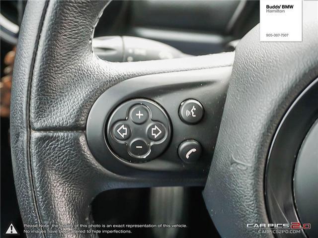 2014 MINI Paceman Cooper S (Stk: T46765PA) in Hamilton - Image 16 of 23