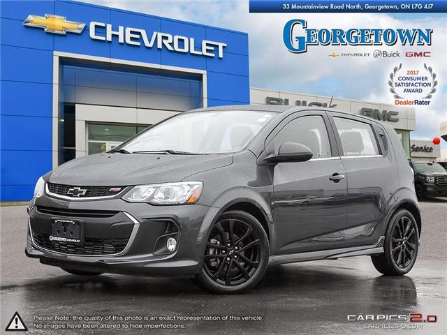 2018 Chevrolet Sonic Premier Auto (Stk: 28612) in Georgetown - Image 1 of 27