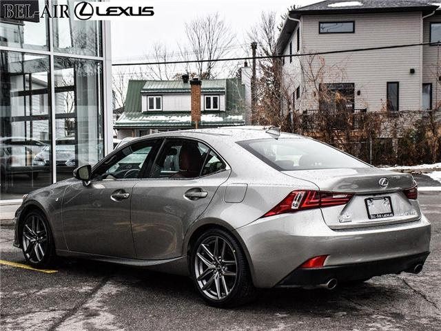 2016 Lexus IS 350 Base (Stk: L0444) in Ottawa - Image 4 of 30