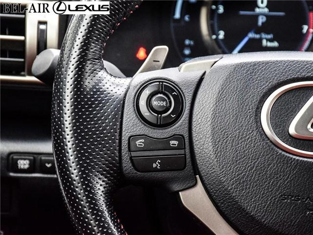 2016 Lexus IS 350 Base (Stk: L0444) in Ottawa - Image 21 of 30
