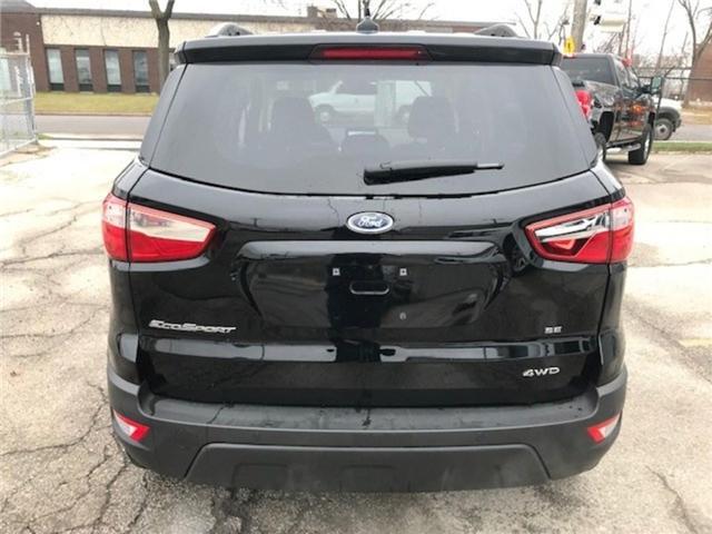 2018 Ford EcoSport SE (Stk: MAJ6P1) in Etobicoke - Image 4 of 9
