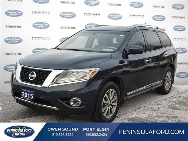 2015 Nissan Pathfinder SL (Stk: 19FE23B) in Owen Sound - Image 1 of 24
