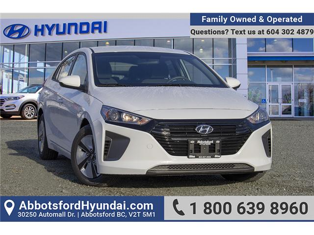 2019 Hyundai Ioniq Hybrid ESSENTIAL (Stk: KI126505) in Abbotsford - Image 1 of 27