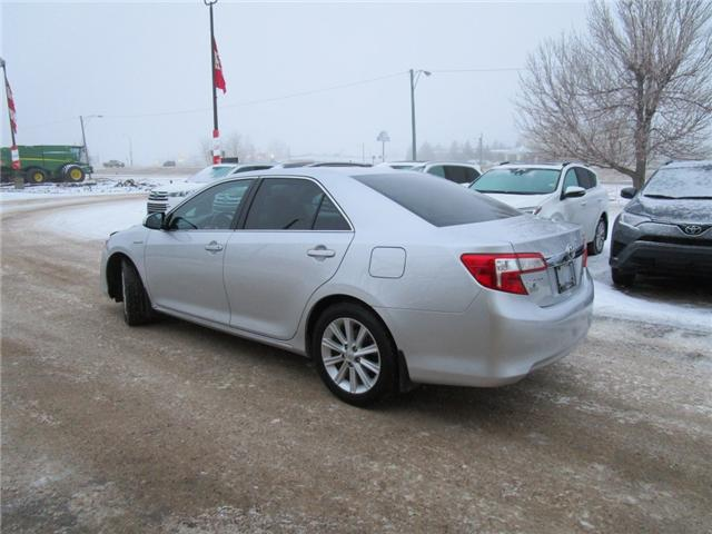 2014 Toyota Camry Hybrid XLE (Stk: 69151) in Moose Jaw - Image 6 of 31