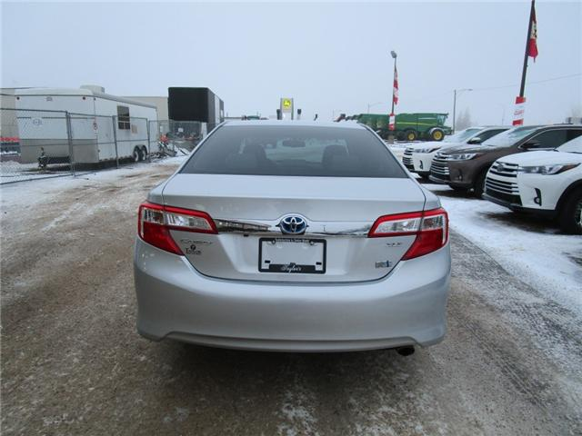 2014 Toyota Camry Hybrid XLE (Stk: 69151) in Moose Jaw - Image 7 of 31