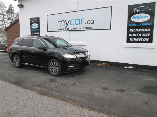 2014 Acura MDX Navigation Package (Stk: 181869) in Richmond - Image 2 of 15