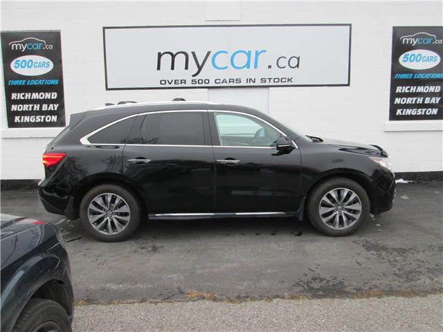 2014 Acura MDX Navigation Package (Stk: 181869) in Richmond - Image 1 of 15