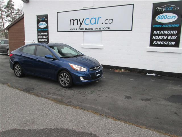 2017 Hyundai Accent SE (Stk: 181590) in Kingston - Image 2 of 14