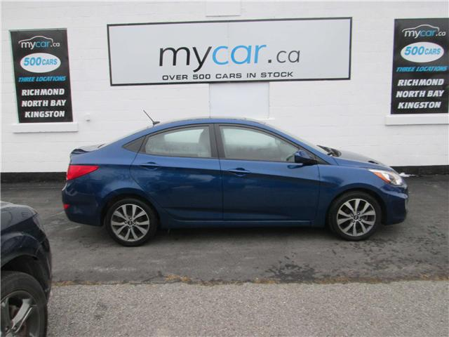 2017 Hyundai Accent SE (Stk: 181590) in Kingston - Image 1 of 14