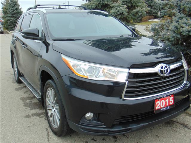 2015 Toyota Highlander XLE (Stk: 167167T) in Brampton - Image 1 of 17