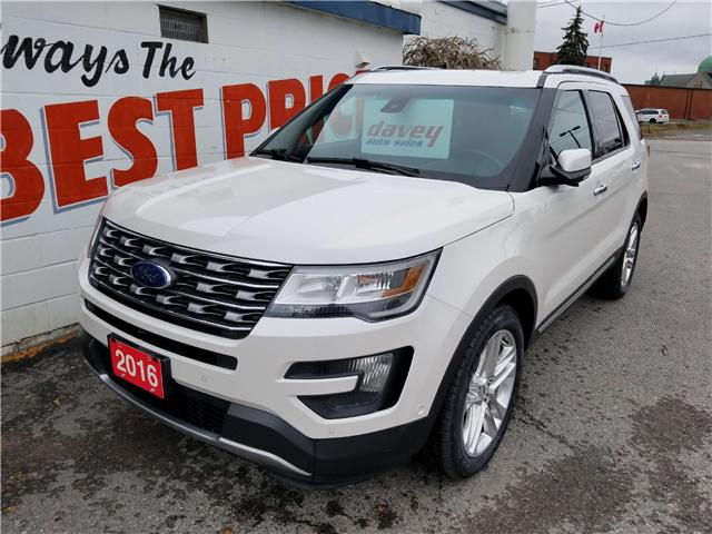 2016 Ford Explorer Limited (Stk: 18-572) in Oshawa - Image 1 of 21