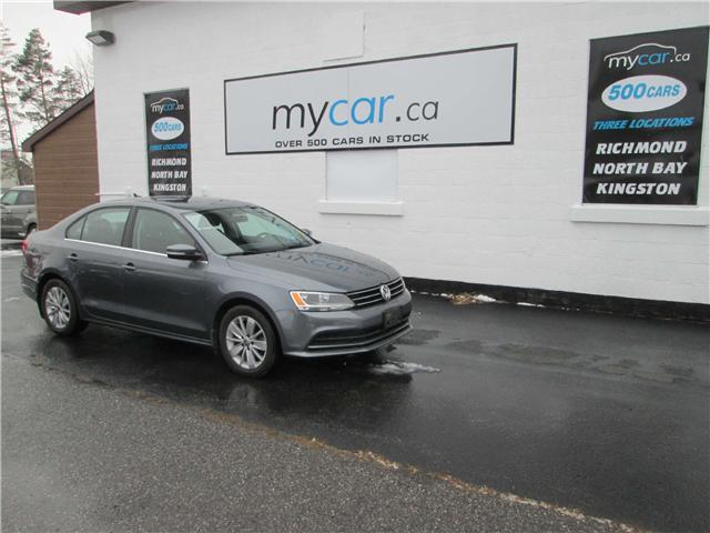 2015 Volkswagen Jetta 2.0L Trendline+ (Stk: 181906) in Richmond - Image 2 of 13