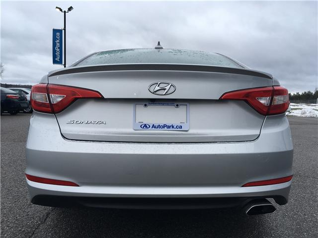 2017 Hyundai Sonata GL (Stk: 17-25663RJB) in Barrie - Image 6 of 23