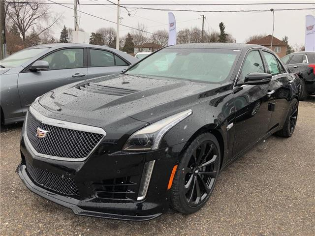 2019 Cadillac CTS-V Base (Stk: 0112292) in Markham - Image 1 of 5
