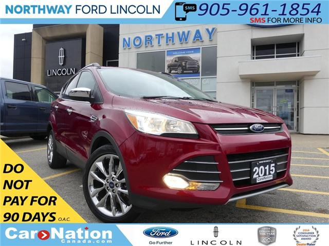 2015 Ford Escape SE   NAV   REAR CAM   PANO ROOF   HEATED SEATS   (Stk: EC81084A) in Brantford - Image 1 of 26