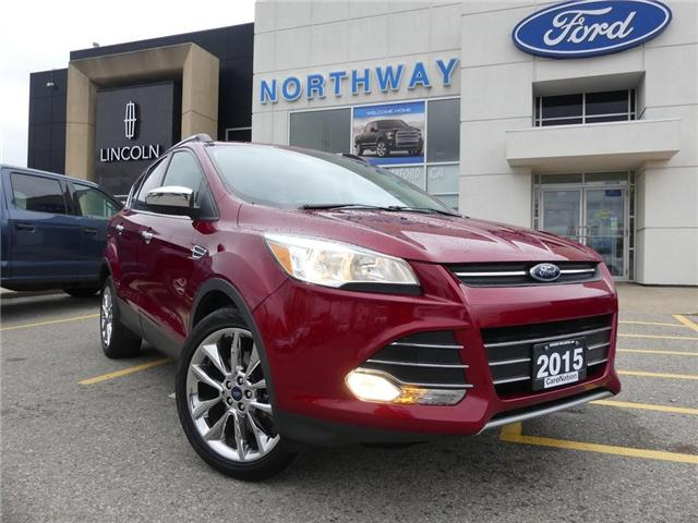 2015 Ford Escape SE   NAV   REAR CAM   PANO ROOF   HEATED SEATS   (Stk: EC81084A) in Brantford - Image 2 of 26
