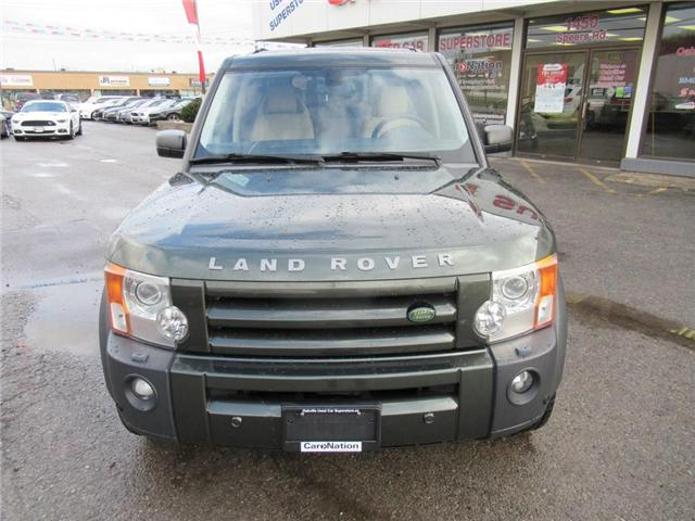 2008 Land Rover LR3 V8 HSE | NAVI | DUAL SUNROOF | 7 SEATER (Stk: P11645) in Oakville - Image 2 of 28